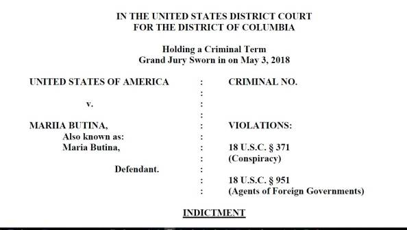Butina indictment